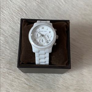 Michael Kors Ceramic White watch